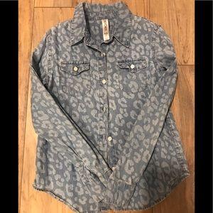 Button down girls shirt
